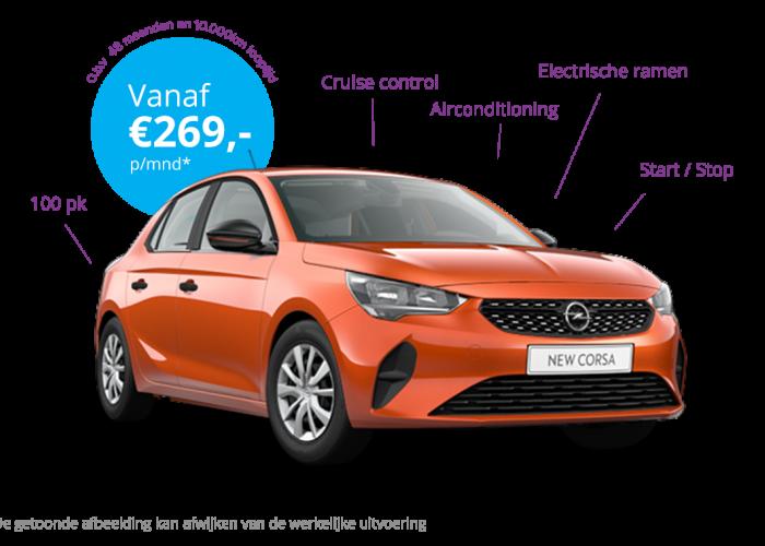 Private Lease Opel Corsa