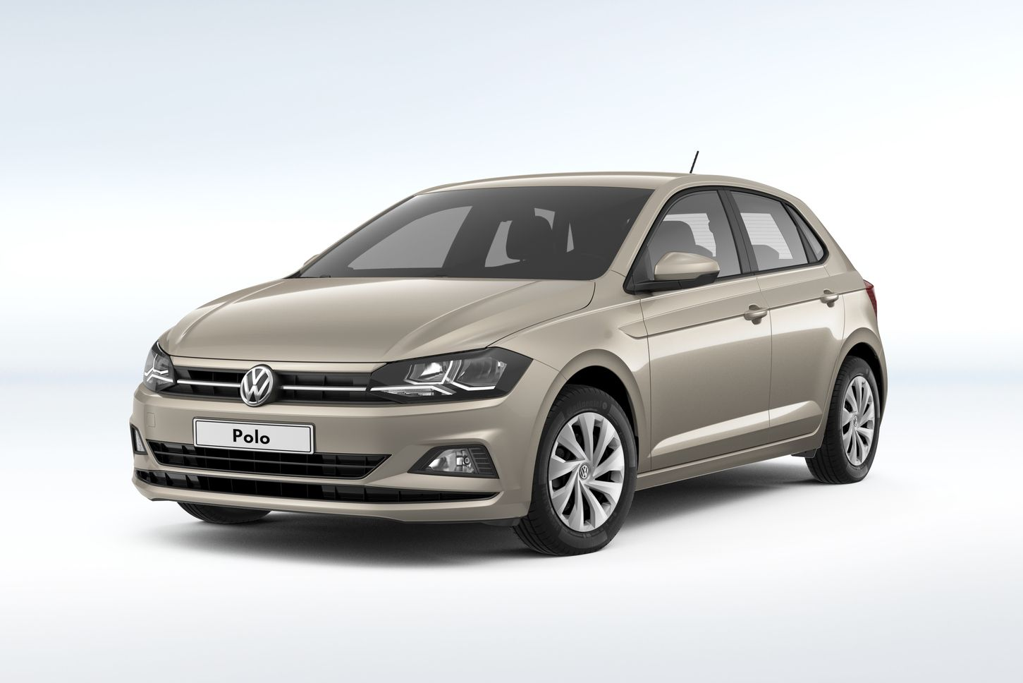 Volkswagen Polo ivorysilver private lease